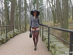 Big Butts, Public, Stockings, Voyeur