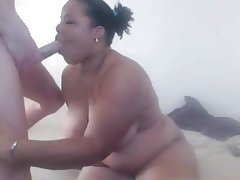 Blowjob, BBW, Big Boobs, Interracial
