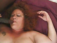 Big busty tits blow job
