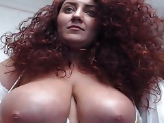 Amateur, Big Boobs, Redhead, Webcam