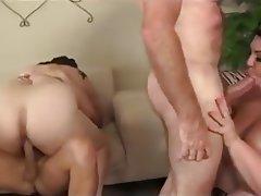 Big Black Cock, Big Boobs, Group Sex