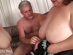 BBW, Big Boobs, Group Sex, Big Butts