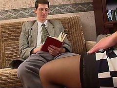 Milfs men pantyhose seducing