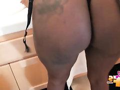 Babe, Big Ass, Ebony, Stockings, Teen