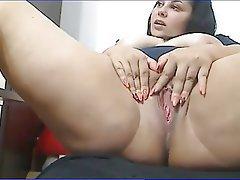 Ass bbw masturbation big