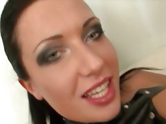 Anal, Brunette, Double Penetration, Facial, Threesome
