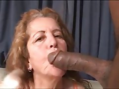 Black Granny Cum Shots