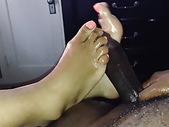 Cumshot, Foot Fetish