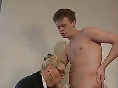 Big milf blowjob tit mature