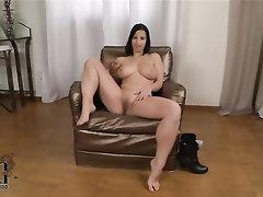 Babe, Big Tits, Casting, Ebony