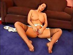 Feet porn stocking